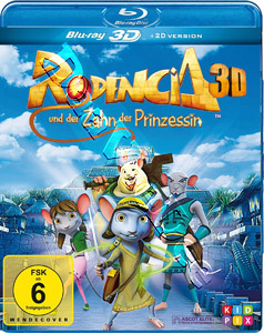 Rodencia and The Princess Tooth (3D) (Blu-Ray)