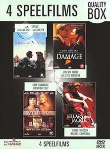 A Room with a View / Damage / Scorchers / Hilary and Jackie (DVD)