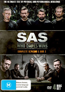 SAS: Who Dares Wins Series 1&2 - 4-DVD Set