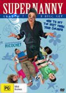 Supernanny - Season 1 - 3-DVD Box Set ( Super nanny - Season One