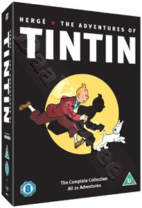 The Adventures of Tintin - Complete Collection - 5-DVD Box Set (DVD)