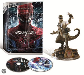 The Amazing Spider-Man 1+2 Limited Deluxe Edition plus Lizard Figurine