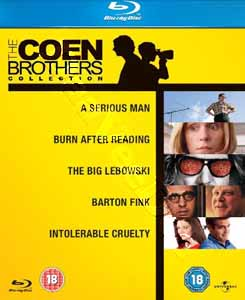 The Coen Brothers Collection - 5-Disc Box Set (Blu-Ray)