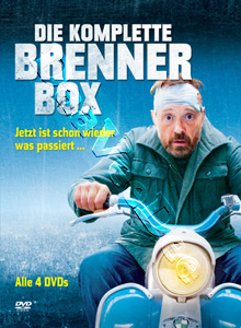 The Complete Brenner Box 4-DVD Set