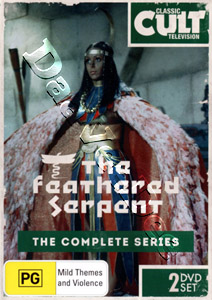 The Feathered Serpent - Complete Series 2-DVD Set