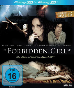 The Forbidden Girl 3D (Blu-Ray)