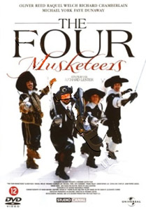 The Four Musketeers   (1974)  (DVD)