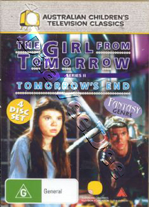 The Girl from Tomorrow: Series Two 4-DVD Set (DVD)