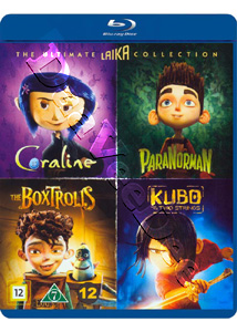 The Ultimate Laika Collection 4-Disc Set