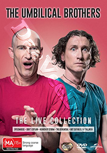 The Umbilical Brothers Live Collection - 5-DVD Boxset