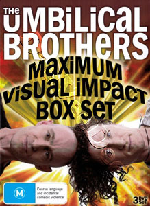 The Umbilical Brothers - Maximum Visual Impact - 3-DVD Box Set (DVD)