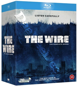 The Wire (Complete Series) - 20-Disc Box Set (Blu-Ray)