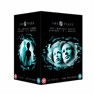 The X Files (Complete Seasons 1-9 & 2 Movies) - 55-DVD Box Set (DVD)