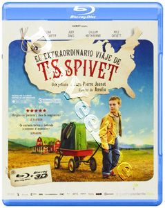 The Young and Prodigious T.S. Spivet (2013) (Blu-Ray)