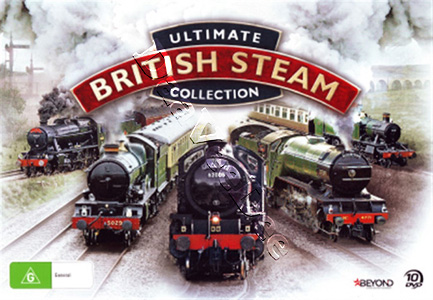 Ultimate British Steam Collection 10-DVD Set
