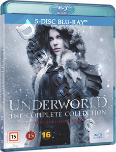 Underworld: The Complete Collection - 5-Disc Set